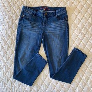 ELLE Jeans - Straight Leg - Dark Blue - Size 12